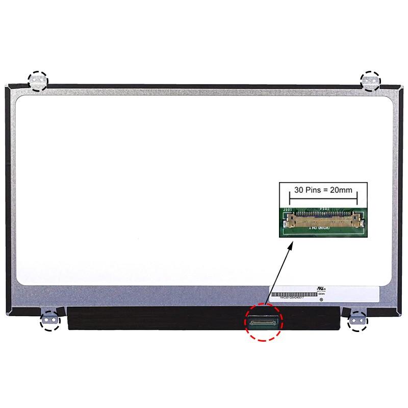 ECRÃ LCD - LENOVO U430P, U430P 59393057, U430P 59393065, U430P 59393069, U430P 59393074 SERIES - 1