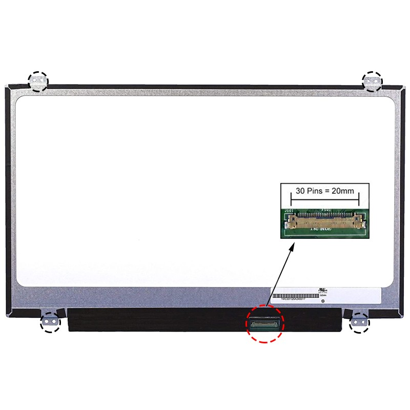ECRÃ LCD - LENOVO THINKPAD E440, E440 20C5, E450, E450 20DC, E455, E455 20DE SERIES - 1