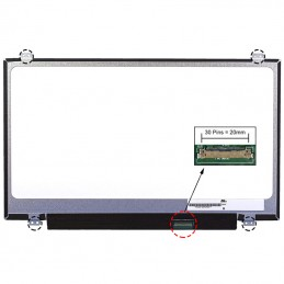 ECRÃ LCD - TOSHIBA SATELLITE RADIUS 14 L40W-C SERIES - 1