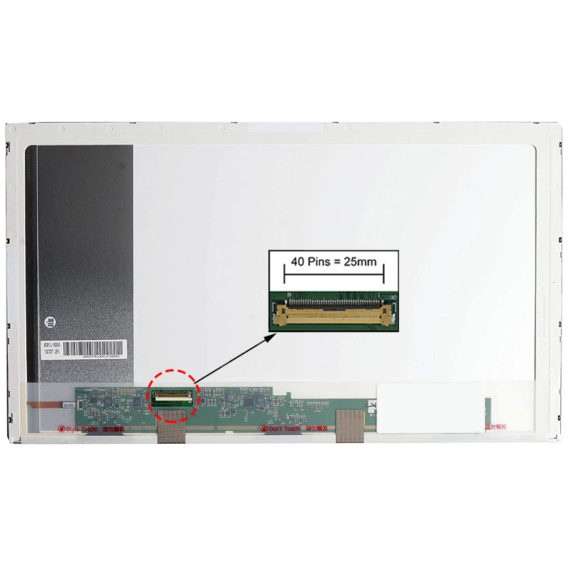 ECRÃ LCD - ASUS K73, K73BE, K73BR, K73BY, K73E, K73SD, K73SJ, K73SM, K73SV, K73TA, K73TK SERIES - 1