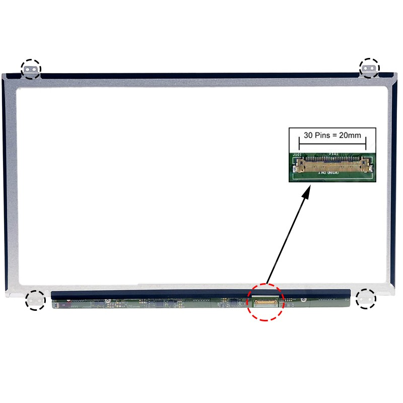 ECRÃ LCD - ACER ASPIRE ES1-532, ES1-532G