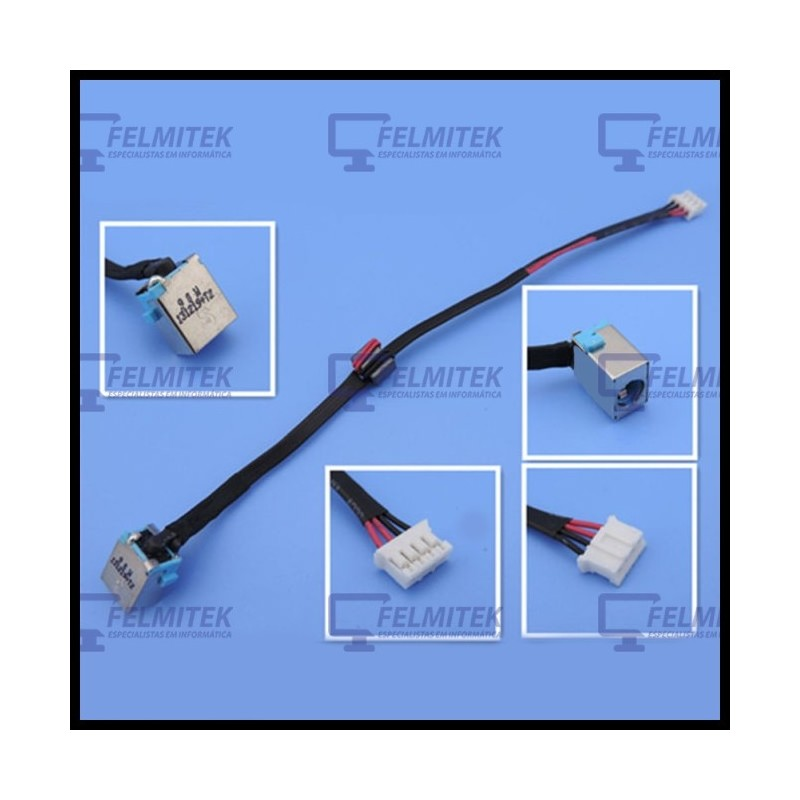 CONECTOR CARGA | DC POWER JACK ACER ASPIRE 1521, 1551, 5741, 5741G, 5742, 5742G, 5742Z, 5750, 7250, 7560, 7739, 7750 SERIES - 1