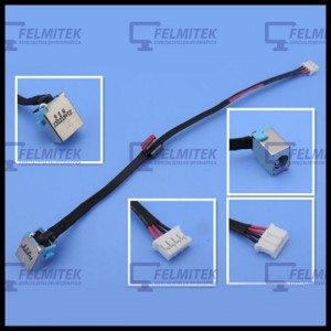 CONECTOR CARGA | DC POWER JACK PACKARD BELL EASYNOTE TE11BZ, TE11HC, TK11BZ, TK13BZ, TK36, TK37, TK81, TK83, TK85, TK87 SERIES -
