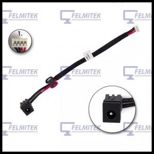 CONECTOR CARGA | DC POWER JACK TOSHIBA SATELLITE L650, L650-100, L650-108, L650-10G, L650D, L650D-101, L650D-102 SERIES - 1