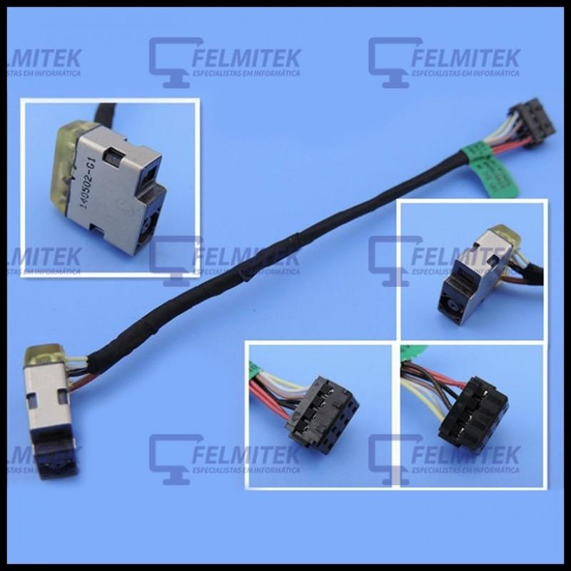 CONECTOR CARGA | DC POWER JACK HP ENVY 15-J, 15-J000, 15-J100, 15T-J, 15T-J000, 15Z-J, 15Z-J000 SERIES - 1