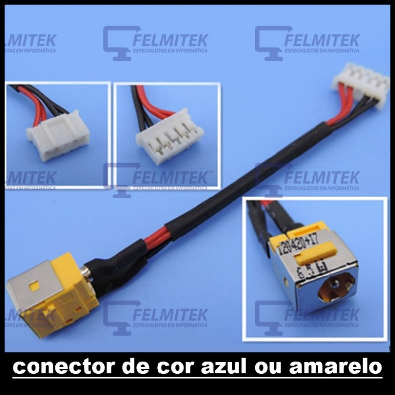 CONECTOR CARGA | DC POWER JACK ACER TRAVELMATE 5220, 5220G, 5230, 5310, 5315, 5320, 7220, 7220G, 7230, 7320, 7520 SERIES - 1