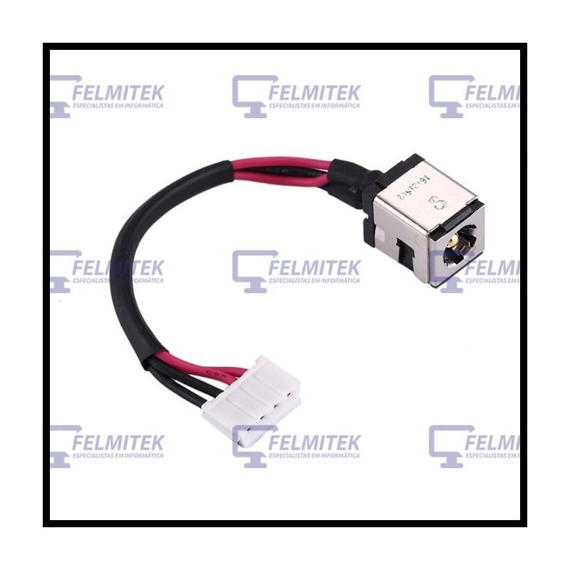 CONECTOR CARGA | DC POWER JACK ASUS P50, P50IJ, K500, K501, X5, X5D, X5DC, X5DAD SERIES - 1