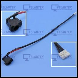 CONECTOR CARGA | DC POWER JACK SAMSUNG NP- E251, NP-E252, NP-E271, NP-E272, NP-N128, NP-N140, NP-N510 SERIES - 1