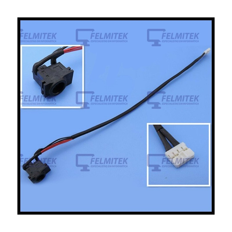 CONECTOR CARGA | DC POWER JACK SAMSUNG NP-R513, NP-R515, NP-R517, NP-R518, NP-R519, NP-R520, NP-R522, NP-R620, NP-R717 SERIES -