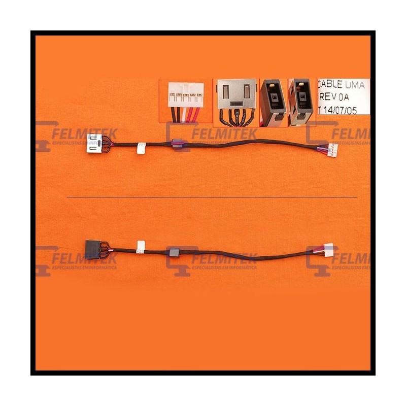 CONECTOR CARGA | DC POWER JACK LENOVO IDEAPAD G70-30, G70-45, G70-70, G70-80, G70-45 SERIES - 1
