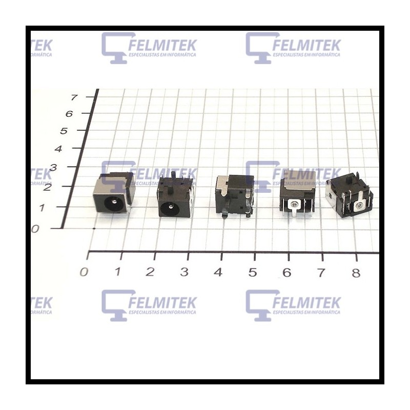 CONECTOR CARGA | DC POWER JACK ACER TRAVELMATE TM5100, TM5110, TM5600, TM5602WSMI, TM6000, TM620, TM621XC, TM650 SERIES - 1