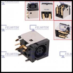 CONECTOR CARGA | DC POWER JACK DELL LATITUDE 100L, 130L, D400, D410, D500, D505, D600, D610, D800, D810 SERIES - 1