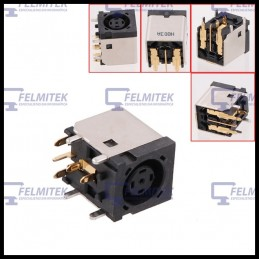CONECTOR CARGA | DC POWER JACK DELL VOSTRO 1000, 1300, 1310, 1400, 1500, 1510, 1700, 1710, 2500, 2510 SERIES - 1
