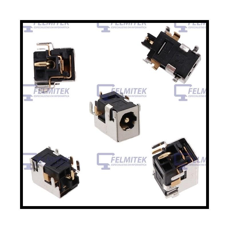 CONECTOR CARGA | DC POWER JACK HP COMPAQ NC6100, NC6110, NC6200, NC8200, NC8230, NX6100, NX6110, NX8200, NX8220, NW8200 SERIES -