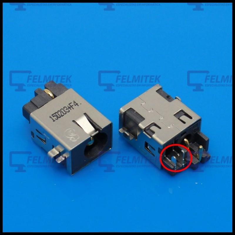 CONECTOR CARGA | DC POWER JACK ASUS F502, F502C, F502CA, F502CA-XX018H, F502CA-XX020D, F502S SERIES - 1
