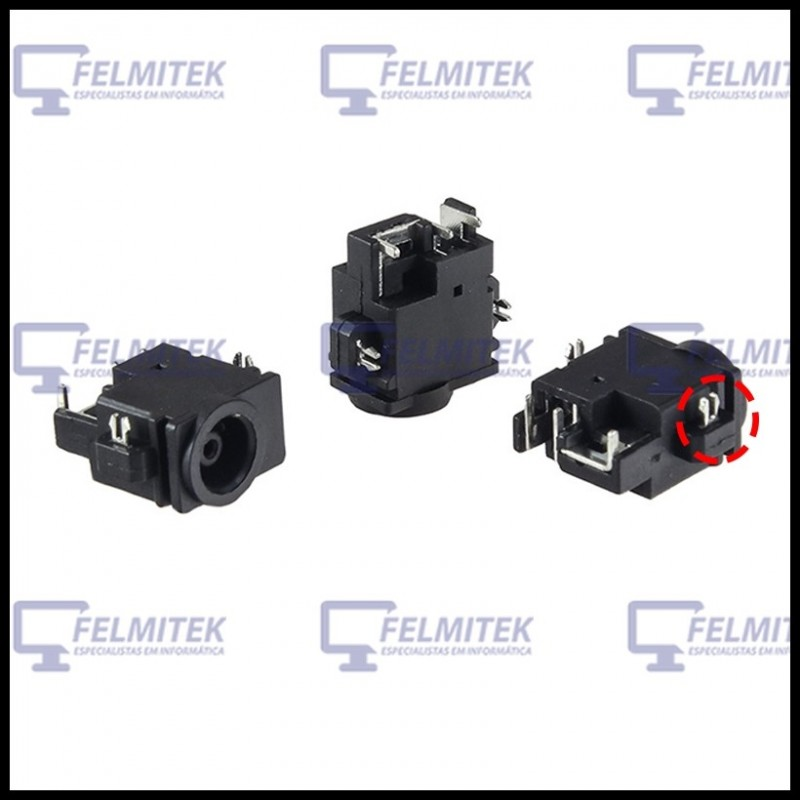 CONECTOR CARGA | DC POWER JACK SAMSUNG NP-N130, NP-N150, NP-SA11H, NT-Q31-AS220 SERIES - 1