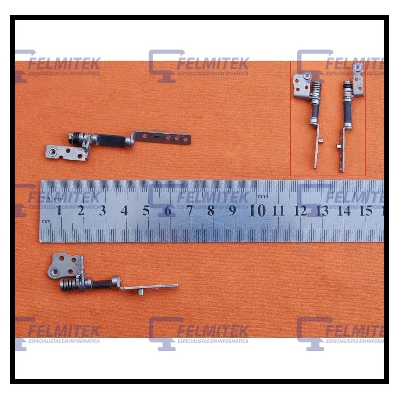 DOBRADIÇA | HINGE - SAMSUNG NP-530, NP530, NP-530U3B, NP-530U3C, NP-535, NP535, NP-535U3C SERIES - 1