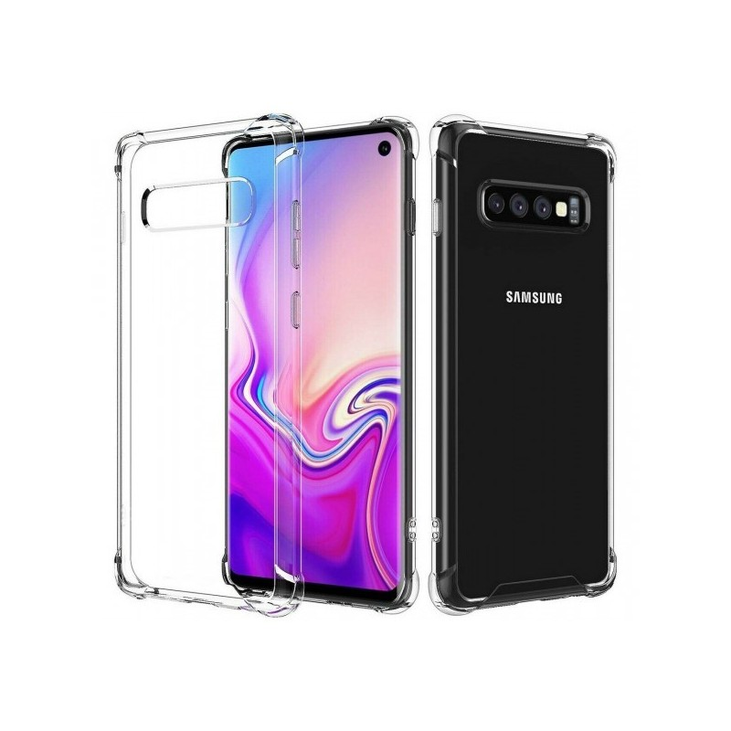 CAPA ANTI-SHOCK SAMSUNG GALAXY S10e TRANSPARENTE - 1