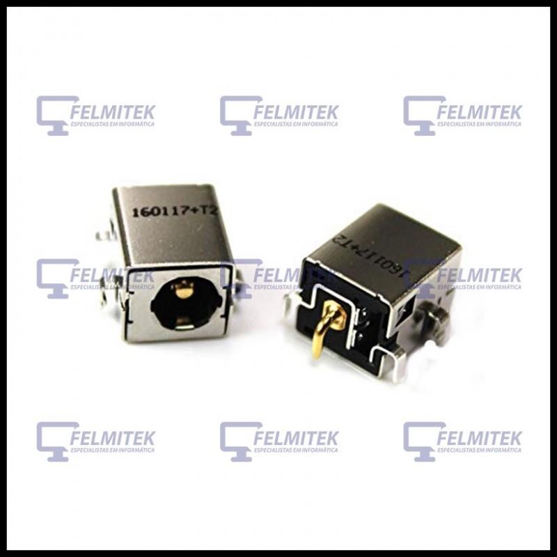 CONECTOR CARGA | DC POWER JACK - ASUS A52, K43, K50 K52, K53, K54, K84, N75, P43, P53, U2, U37, X52, X53, X53S, X54 - 1