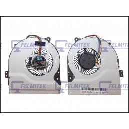 VENTOINHA | FAN - ASUS X550V, X550VB, X550VC, X550VL, X550VQ, X550VX, X550WA, X550WE SERIES - 1