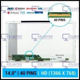 """ECRÃ LCD 14.0"""" - B140XW01, B140XW01, HB140WX1-100, LP140WH1(TL)(A1), LTN140AT01, N140B6-L02, N140BGE-L22 - 1"""
