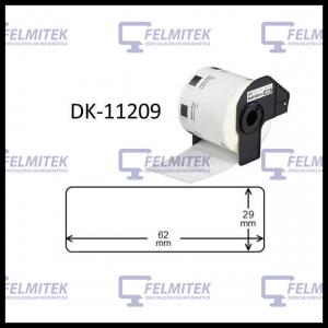 DK11209 | DK-11209 - ETIQUETA COMPATÍVEL BROTHER (29MMx62MM) - 1