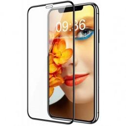PELÍCULA DE VIDRO TEMPERADO CURVO IPHONE 12 PRO MAX 11D FULL GLUE - 1