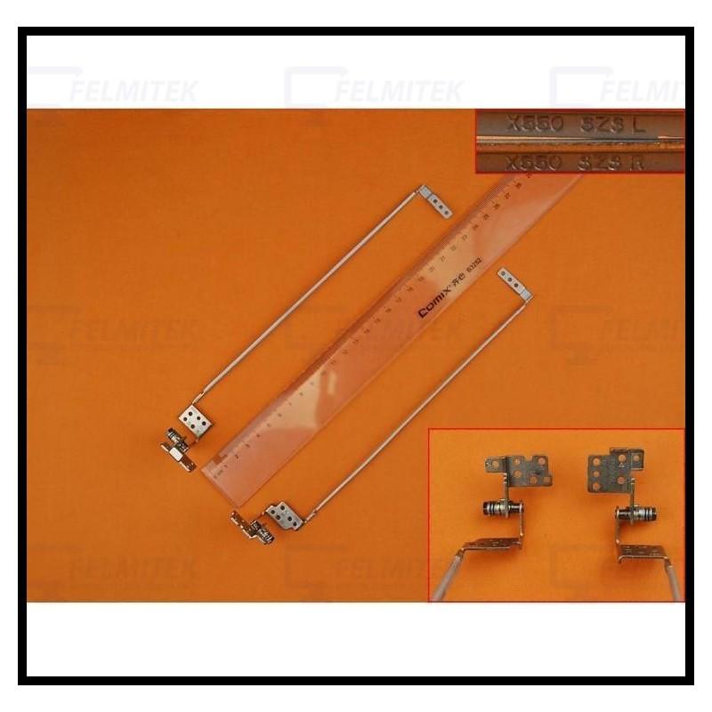 DOBRADIÇAS | HINGES - ASUS A550, A550C, A550CA, A550CC, A550DP, A550IU, A550JD, A550JK, A550JX, A550LA, A550LB, A550LC SERIES -