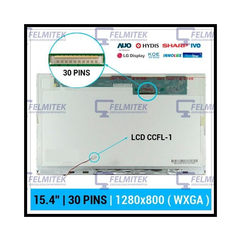 ECRÃ LCD - HP PAVILION DV5T-1000 SERIES - 1