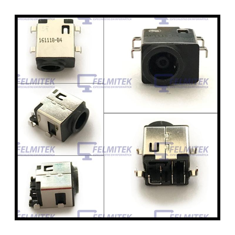 CONECTOR CARGA | DC POWER JACK SAMSUNG NT300V, NT 300V3A, NT 300V3A-A16P, NT 300V3A-S65E, NT 300V3A-S6HJ SERIES - 1