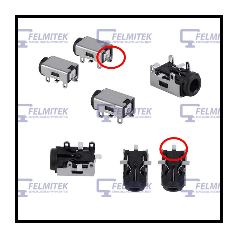 CONECTOR CARGA   DC POWER JACK ASUS EEE PC R011, R011CX, R051, R051BX, R052, R052C, R101, R101D, R105, R251, R252, VX6 SERIES -
