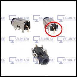 CONECTOR CARGA | DC POWER JACK ASUS EEE PC R011CX, R051BX, R052C, R101D, R105, R105D, R251B, R252B, SUPER10, VX6, VX6S SERIES -