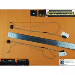 CABO FLAT CABLE ECRÃ LCD – LENOVO IDEAPAD 100-14, 100-14IBY, 100-14LBY, 100-15, 100-15IBY, 100-15LBY – VERSÃO 1 - 1