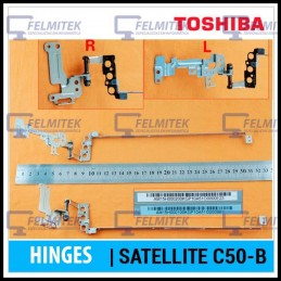 DOBRADIÇA | HINGE - TOSHIBA SATELLITE C50-B, C50D-B, C50DT-B, C50T-B, C55-B, C55T-B SERIES (S/TOUCH SCREEN VERSÃO 1) - 1