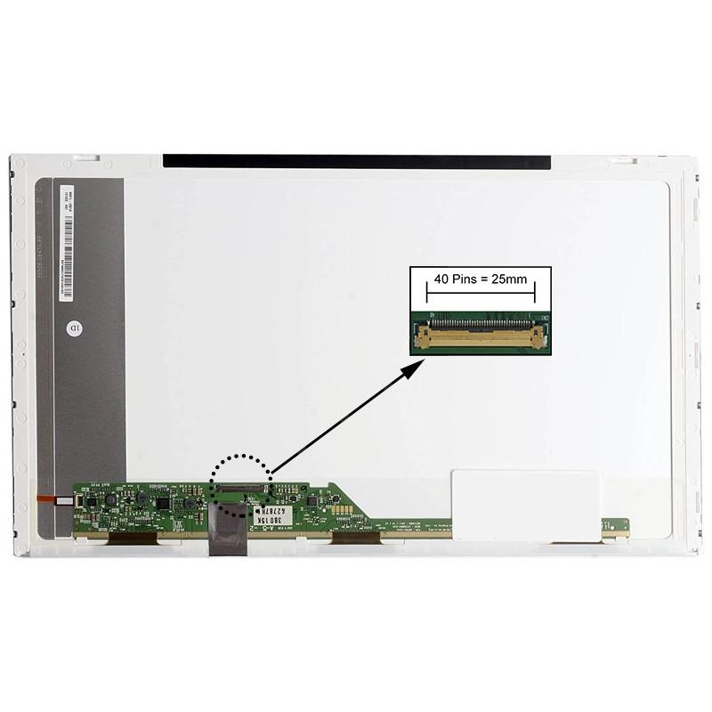 ECRÃ LCD - TOSHIBA SATELLITE P750/008, P750/01Y, P750/02J, P750/02K, P750/02L, P750/02R, P750/02S, P750/02T, P750/03T, P750/05Q